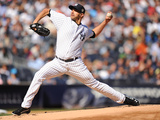 Sep 22  2013 - New York  NY: San Francisco Giants v New York Yankees - Andy Pettitte