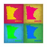 Minnesota Pop Art Map 1