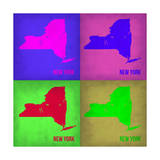 New York Pop Art Map 1