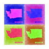 Washington Pop Art Map 2