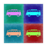 VW Bus Pop Art 2