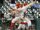 Sep 19  2013 - Houston  TX: Cincinnati Reds v Houston Astros