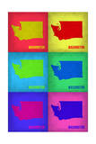 Washington Pop Art Map 1