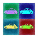 VW Beetle Pop Art 3