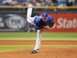 Sep 16  2013 - St Petersburg  FL: Texas Rangers v Tampa Bay Rays