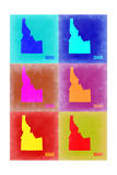 Idaho Pop Art Map 2