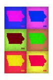 Iowa Pop Art Map 2