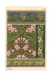 Jonquil  Narcissus Jonquilla  As Design Motif in Wallpaper And Fabric Patterns