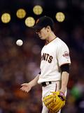 Jul 08  2013 - San Francisco  CA: New York Mets v San Francisco Giants - Tim Linecum