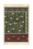 Snowdrop  Galanthus Nivalis  As Design Motif in Wallpaper  Borders And Fabrics