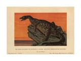 Iguanodon Bernissartensis  Extinct Ground-dwelling Herbivore of the Jurassic