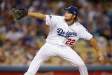 Oct 07  2013 - LA  CA: National League Division Series Game 4- Braves v Dodgers - Clayton Kershaw