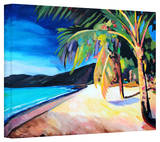 'Magen's Bay StThomas Virgin Islands' Gallery-Wrapped Canvas