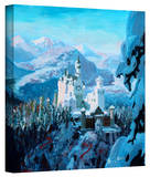 'Neuschwanstein Castle' Gallery-Wrapped Canvas