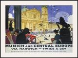 LNER  Munich and Central Europe  Lner  1929