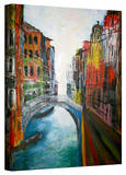 'Venice Grand Canale' Gallery-Wrapped Canvas