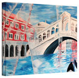 'Rialto Bridge' Gallery-Wrapped Canvas