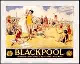 LMS Railway  Blackpool Beach