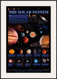 Solar System Chart  The - ©Spaceshots