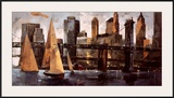 Sailboats in Manhattan II