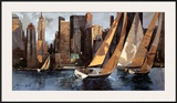 Sailboats in Manhattan I