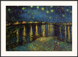 Starry Night Over the Rhone  c1888