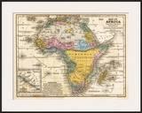 Map of Africa  c1839