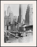 Airplane Landing in Manhattan  1935