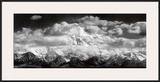 Mt McKinley Range  Clouds  Denali National Park  Alaska  1948