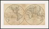 The World  c1825