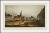 Dresden - The Old Market from the Castle Street