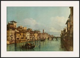 The River Arno with Ponte Santa Trinita  Florence