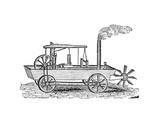 19th Century Amphibious Vehicle  Artwork