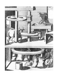 17th Century Milling Machine  Artwork