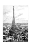 Eiffel Tower  1889 Universal Exposition
