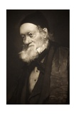 1889 Sir Richard Owen Portrait Old Age Cu
