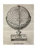 Earth Globe  16th Century Artwork