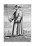 Plague Doctor  17th Century Artwork