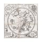 Southern Hemisphere Star Chart  1537