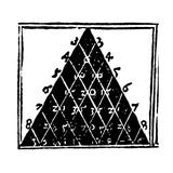 Petrus Apianus's Pascal's Triangle  1527