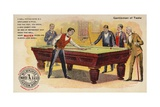 Gentlemen of Taste  Playing Pool