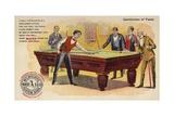Gentlemen of Taste  Playing Pool