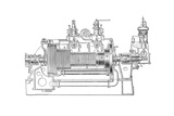 Westinghouse-Parsons Steam Turbine