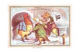 Brought before the Beak  Christmas Card