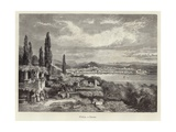 Italy - Trieste Engraving by a Clos