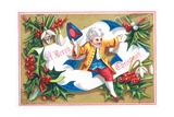 Regency Gentleman  Christmas Card