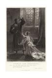 Othello and Desdemona  Othello  Act IV  Sc 2