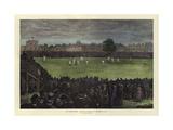 The Cricket Match  Australia V England  at Kennington Oval