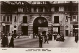 Waterloo Station  Main Exit  Telegraph Office Left  Buffet Right