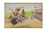 Horse Racing on Cotton Reels